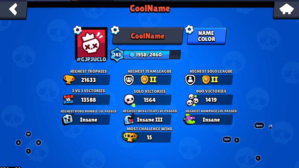 Brawl Stars Almost Fully Maxed Out