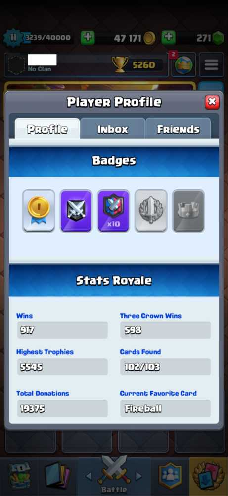 LVL 11 - 102/103 - Trophies Over 5K - 2 Tower Skins - Android and IOS - Click for details...