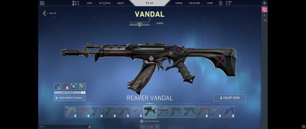 Vandal Reaver & Elderflame, Reaver Knife, Singularity Phantom, Worth/Spent $140 full access
