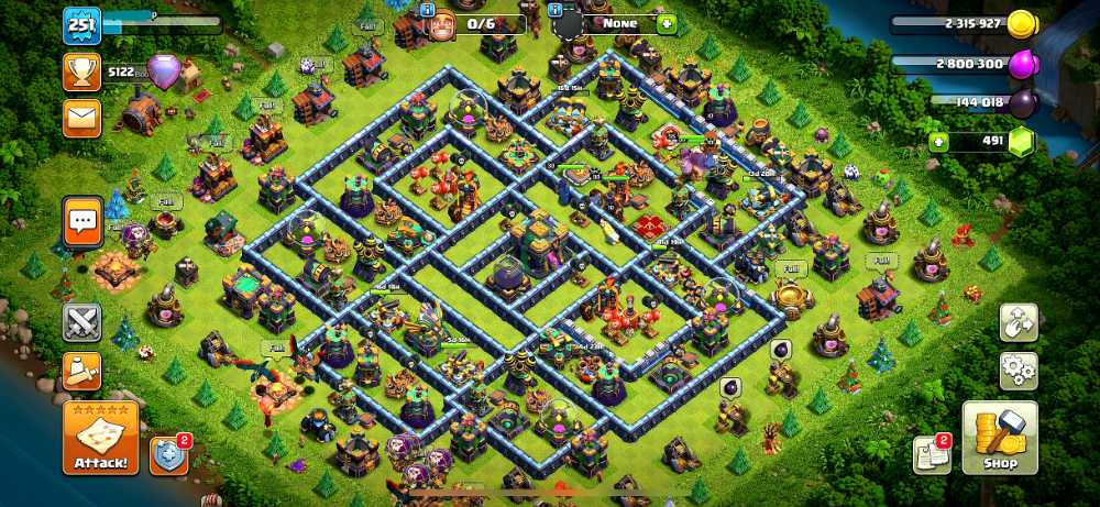 251 XP | Max 99% TH14 | Unlinked.Will link to Your email | Max Hero | Max PET | War stars 3300+ | Max 99% Defense - Wall | Max Builder base | ios & android