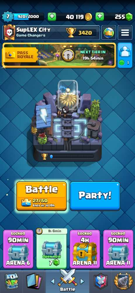 I have a Electro Valley  Clash Royal account for sale only $19