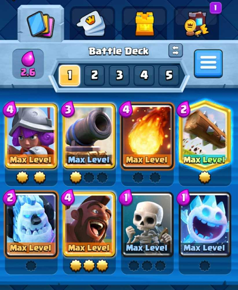 Very Profitable!   Almost 60 max cards   High Record for Trophies   Many Emotes   Lots of Maximum Decks