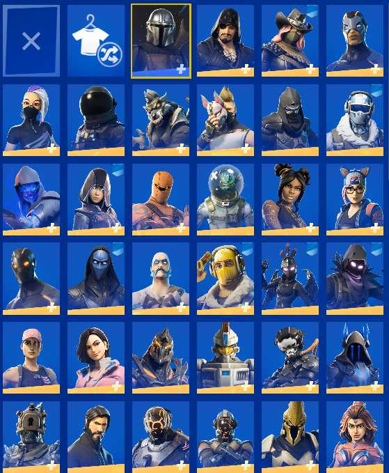 Fortnite Skins Og Stacked Epic Games Account With Og Fortnite Skins And 33 Paid Epic Games