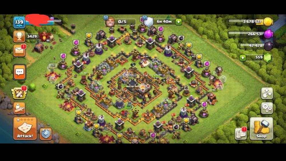 TH11 LVL139   Heroes : 27/40/11   Almost Maxed Base   Best Price