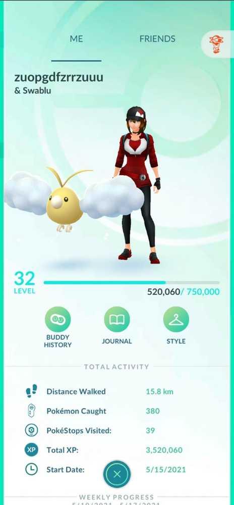 Pokemon Go Account lvl 30-35