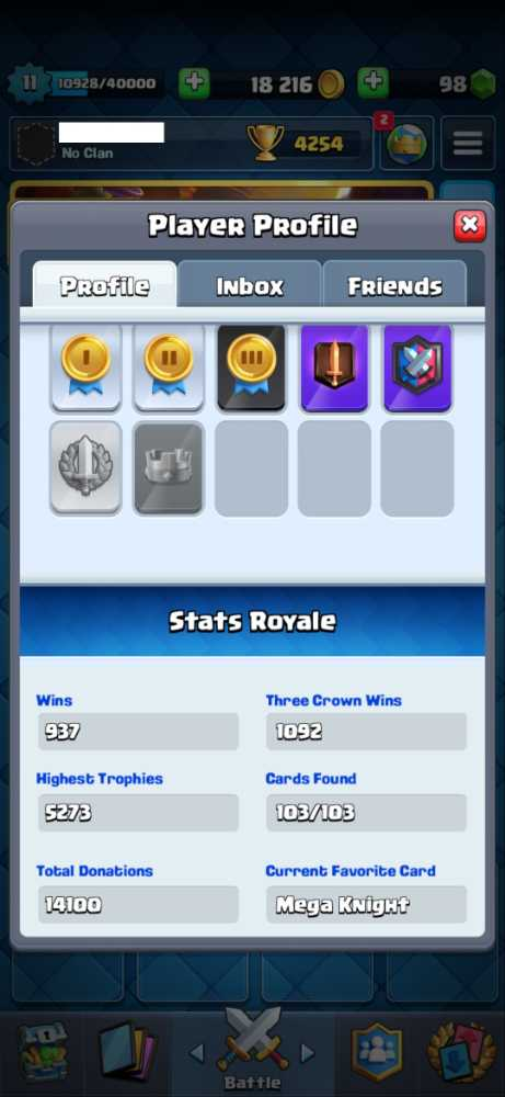 LVL 11 - 103/103 - Trophies Over 5K - Android and IOS - Click for details...