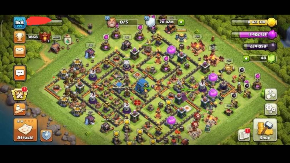 TH12 LVL168 | Heroes : 33/50/11 | Decent Base | Best Price