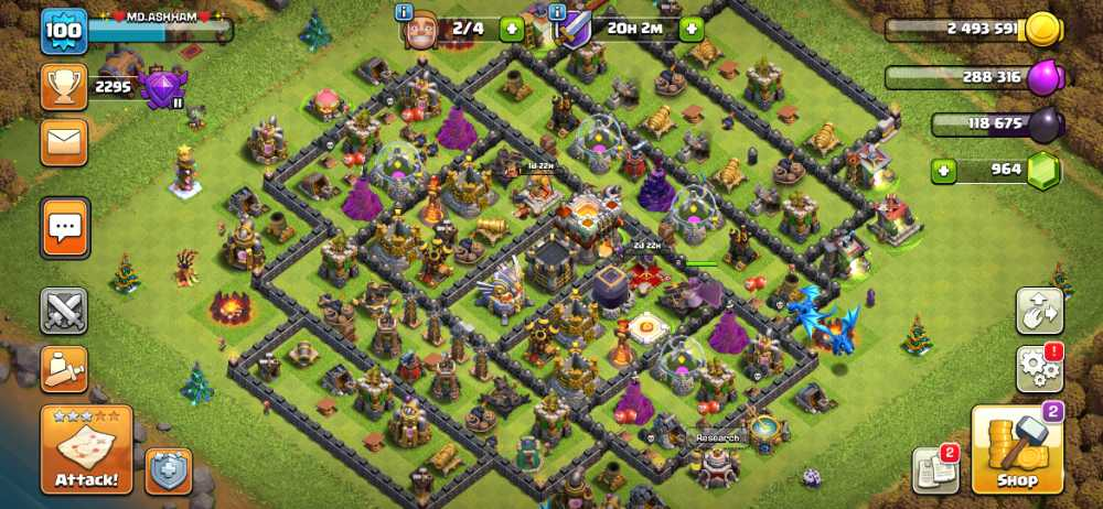 TH11,heroes 20/17/10| AmazingWall|LVL127|War Stars:612|GEMS:900|Stronger Base|iOS Android|Guaranteed|Fastest delivery