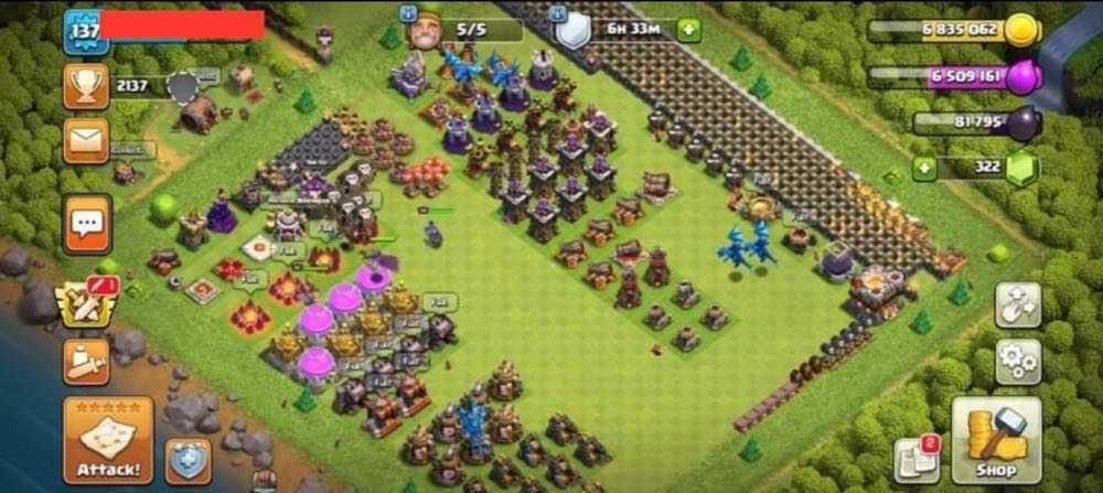 TH11 LVL137 | Heroes : BK22 AQ34 GW7 | Decent Base | Best Price