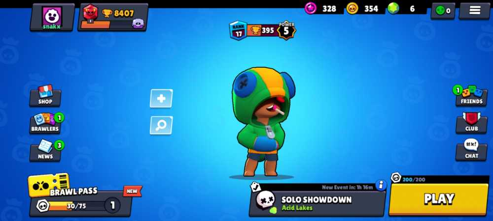 Brawl Stars account 8407 trophies leon and colette, a good starting account