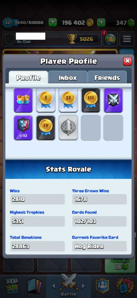 LVL 12 - 102/103 - Trophies Over 5K - Android and IOS - Click for details...