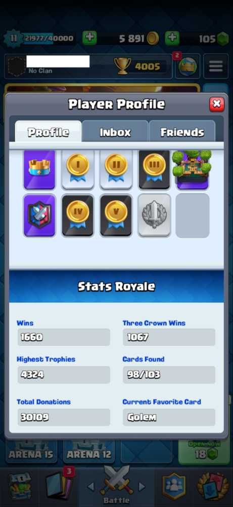 LVL 11 - 98/103 - Trophies Over 4K - Android and IOS - Click for details...