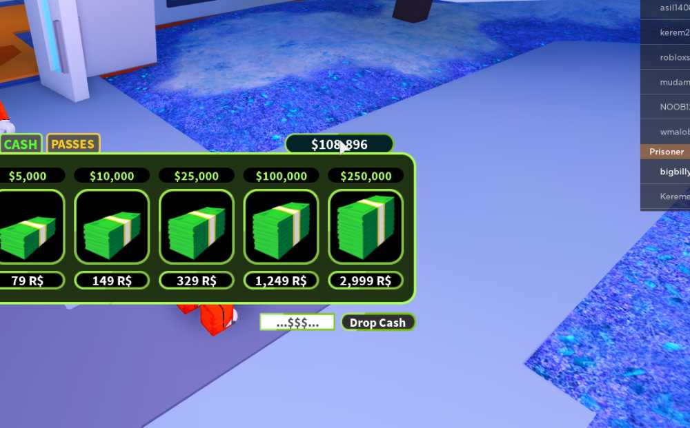 ROBLOX JAILBREAK ACCOUNT WITH 100000$ OVER 3 CARS ENOUGH MONEY