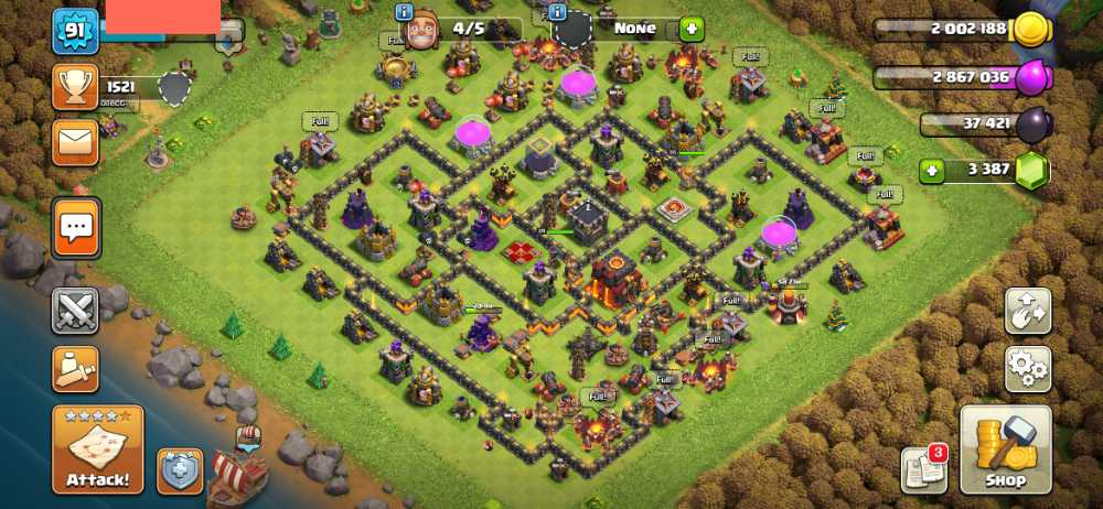 ElectroGame⚡🎮 Townhall 10 🎮 Level 91 🎮 King 26 Queen 28 🎮 Gems 3387 🎮 Medals 284 🎮 Magic item 🎮 Safe Account 💯🎮⚡82